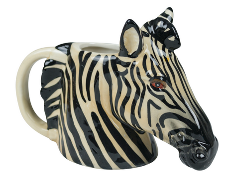 Zebra Ornate Mug